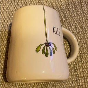 Rae Dunn Christmas Mistletoe Mug